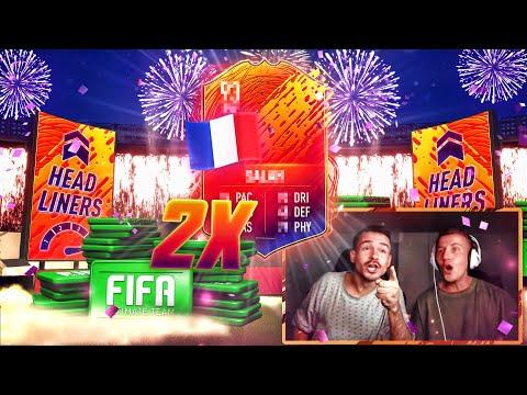 2x HEADLINER IM PACK 😱🔥 FIFA 20 Best Of Pack Opening