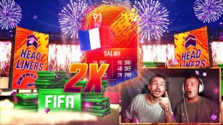 2x HEADLINER IM PACK 😱🔥 FIFA 20 Best of Pack Opening