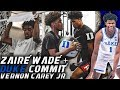 Zaire Wade DUKE Commit Workout w/ Vernon Carey! Increasing Athleticism and Explosiveness Workout!