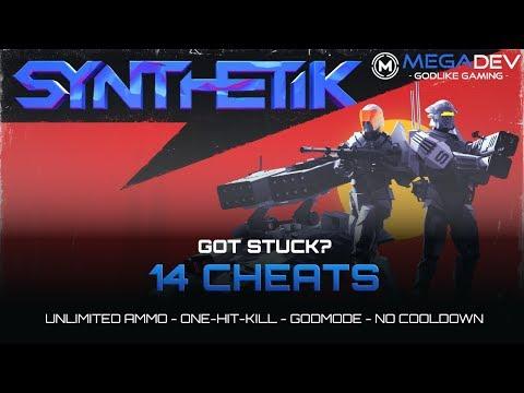 SYNTHETIK CHEATS: Godmode, Unlimited Ammo, OHK, ... | Trainer By MegaDev