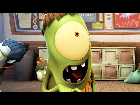 Funny Animated Cartoon | Spookiz | Resident Zombie | 스푸키즈 | Cartoon For Children