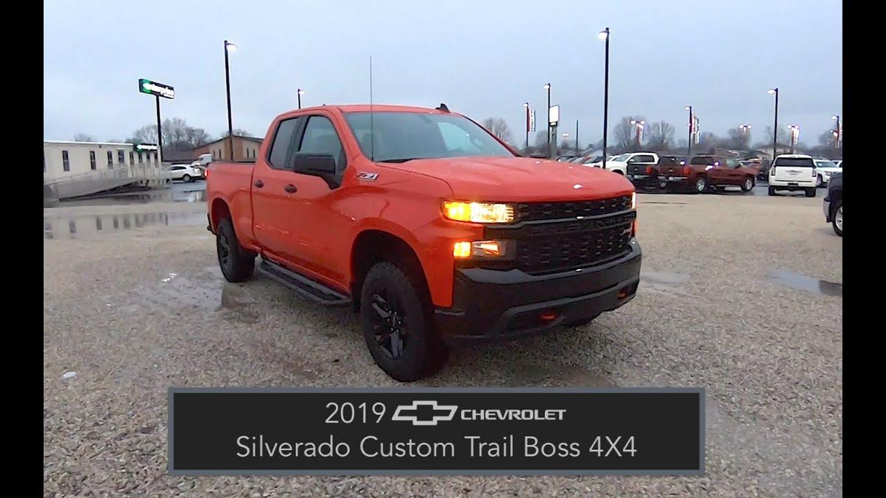 2019 chevrolet silverado custom trail boss double cab z71