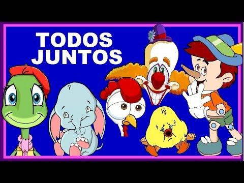 TODOS JUNTOS -  canciones infantiles - Con Letra