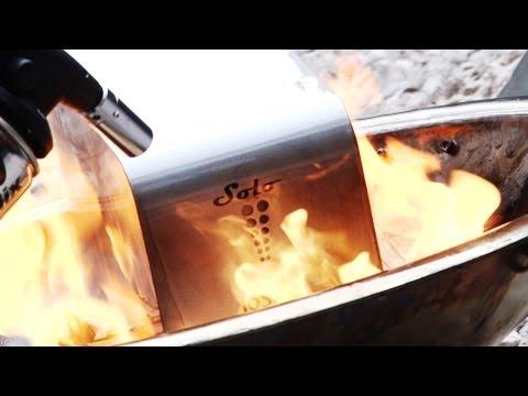 Hard Drive Set on Fire: ioSafe Solo 1TB extreme Tech Test
