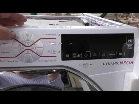 Обзор стиральной машинки Hoover 13 кг  Описание, разборка, бак