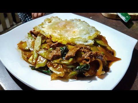 asian food recipes | Char Me Ka Tang | របៀបធ្វើ ឆាមីកាតាំង | Asian Cooking Style