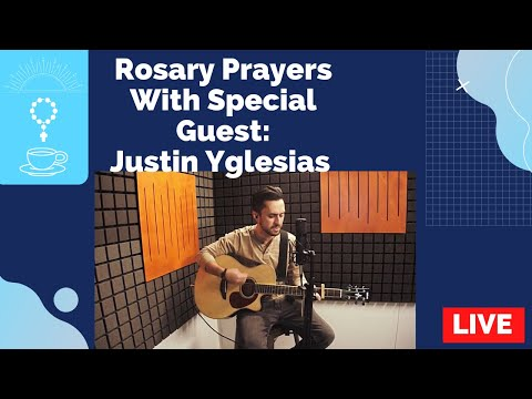 Rosary LIVE with my special guest @Justin Yglesias the CatholicMarathonSon for the Joyful Mysteries