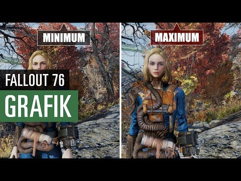 Fallout 76 GRAFIK (PC) Minimum vs. Maximum thumbnail