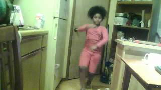 "7 Year Old Dancing to Yung Nation ""Mummy"""
