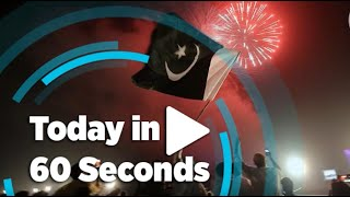 Today in 60 seconds