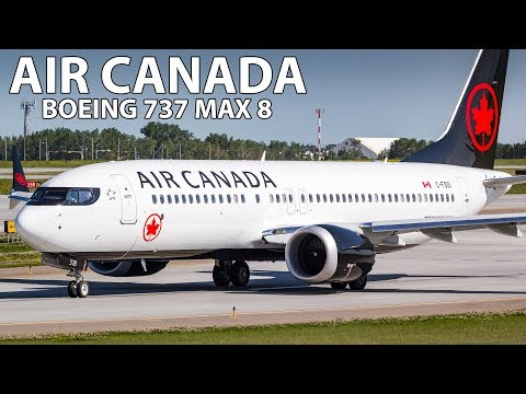 BRAND NEW BUSINESS CLASS! Air Canada Boeing 737 MAX 8 Toronto to Calgary
