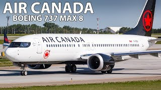 BRAND NEW BUSINESS CLASS! Air Canada Boeing 737 MAX 8 Toronto to Calgary