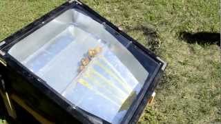 My Homemade Solar Beeswax Melter