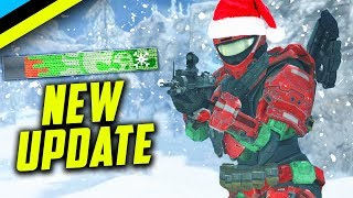 Halo Reach PC Update | Double XP, Halo CE PC Soon, Holiday Nameplate, Playlist Update