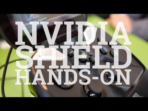 Nvidia Shield Hands On At Google I/O (video)
