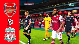 PES 2021 ARSENAL vs LIVERPOOL Premier League 2021 Gameplay PC