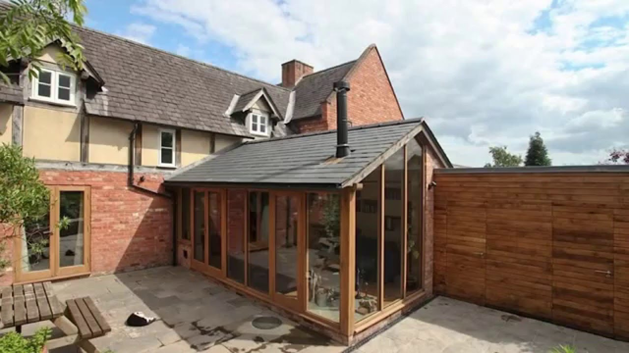 Home Extension For A Timber Framed Family Home In