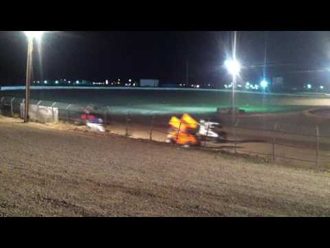 Pahrump Speedway Micro sprint main 3/27/17 part 2