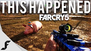 THIS HAPPENED - FAR CRY 5 Gameplay