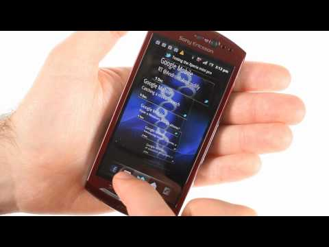 Sony Ericsson Xperia neo V unboxing and UI demo