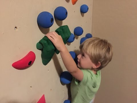 Can I fasten climbing holds directly to my wall?  (Drywall)