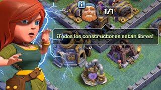 EL FIN de MI TALLER DE CONSTRUCTOR!!  CLASH OF CLANS