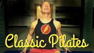 Best 15 Min Classic Pilates Core Abs Workout - Total Body Muscle Shredder Exercises
