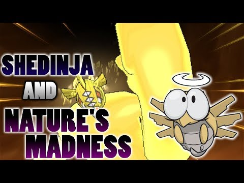 Does Shedinja Faint When Hit By Nature's Madness In Pokemon Ultra Sun and Moon?