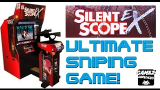 SILENT SCOPE EX! Rare Arcade Shooter! Sniper Shooting Game! Tank Boss!
