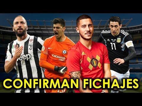 REAL MADRID CONFIRMA FICHAJES | DI MARIA SALDRA DEL PSG | ¿A DONDE SE VA HIGUAIN? thumbnail
