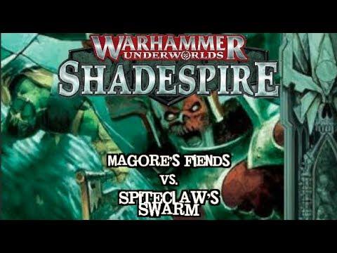 Warhammer Underworlds: Shadespire EP 08 - Spiteclaw's Swarm vs. Magore's Fiends