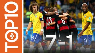 Top 10 Shocks In Football