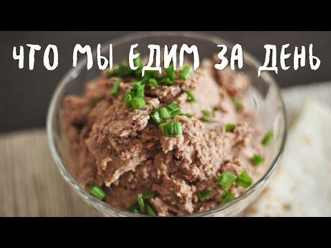 Быстрый рецепт Что мы едим за день (веган) 2