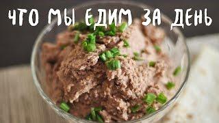 Что мы едим за день (веган) #2