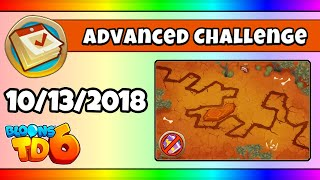 BTD6 Advanced Daily Challenge (HIGH DESERT RUN) - October 13, 2018