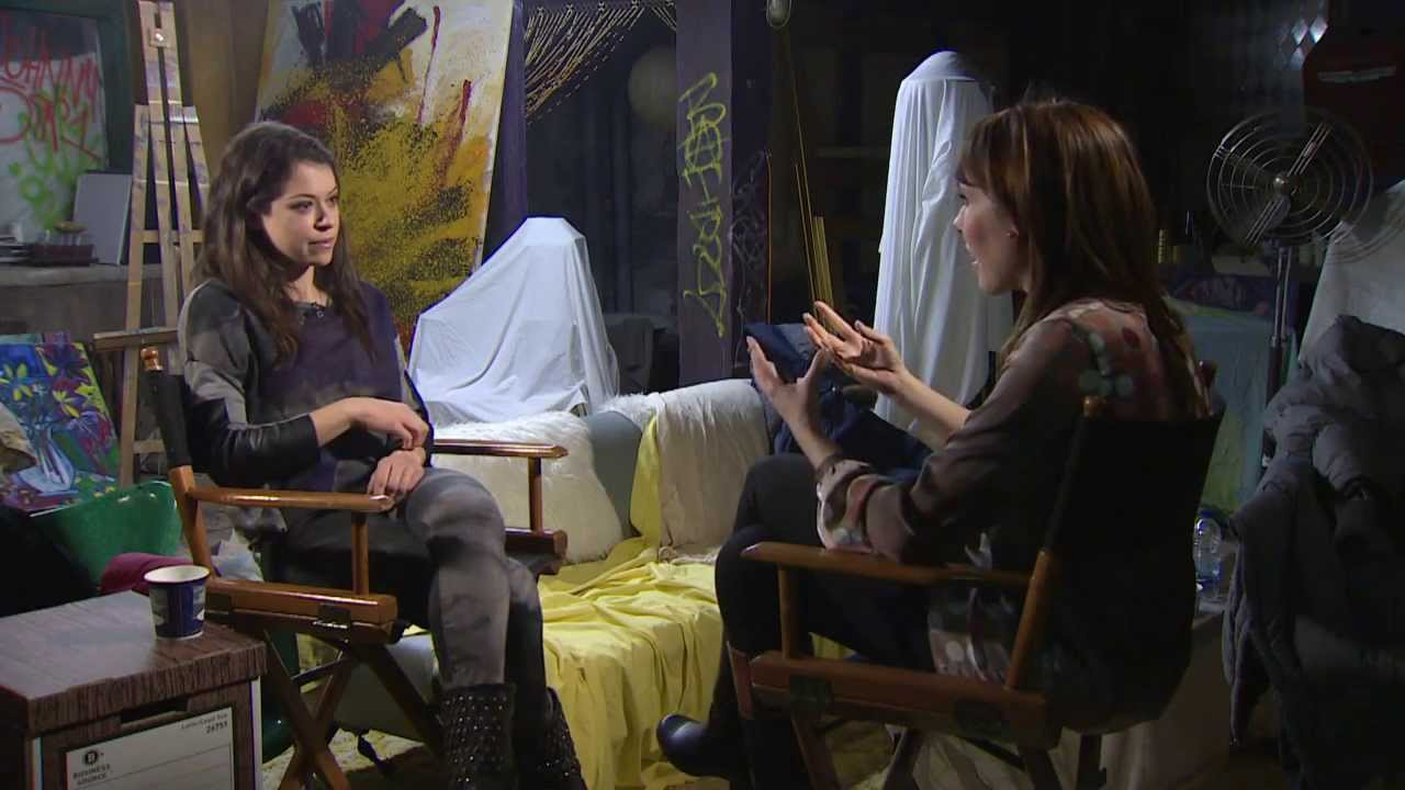 Download Tatiana Maslany discusses her multiple roles on Orphan Black