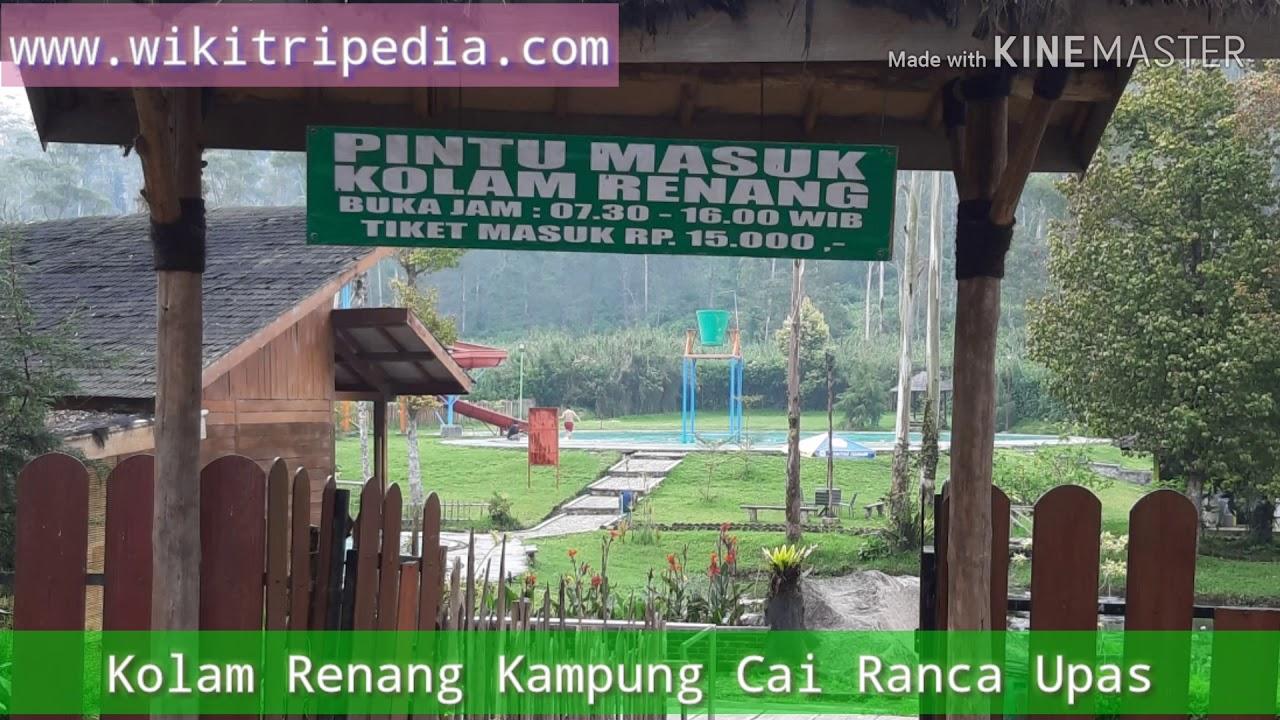Ranca Upas Ciwidey Harga Tiket Masuk Camping Penginapan 2020