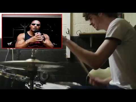 The Rock w/drums