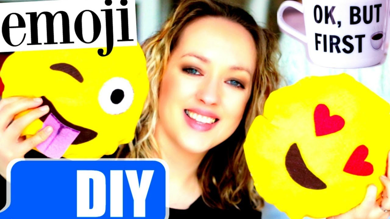 DIY EMOJI : DIY Facile / Decoration Chambre / Room Decor (français)