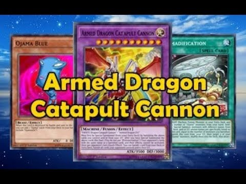 Armed Dragon Catapult Cannon with Ojamas FaDe