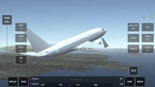Passenger jet new engine sound preview
