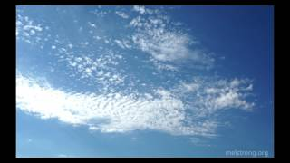 Time lapse of cirrocumulus clouds over Fall River Valley, California (4k)