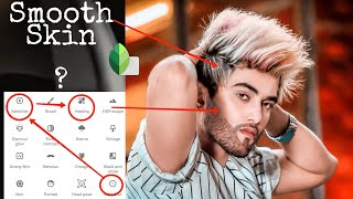 Snapseed Face Smooth Photo Editing Tutorial Step by Step In Hindi-Khatarnak Creation