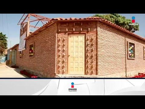 Entregan la primera casa antisísmica en Oaxaca | Noticias con Ciro