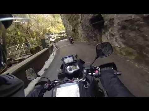 Balade moto : Vercors (30 mars 2014)