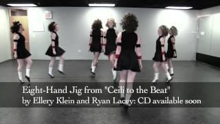 Trinity Irish Dancers perform the Eight-Hand Jig