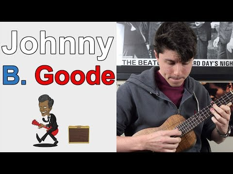 Johnny B. Goode - Chuck Berry || Ukulele Lesson