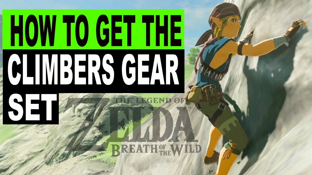 zelda climbing gear location