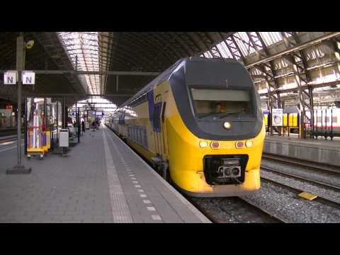 Treinen in Amsterdam Centraal 2014 - Dagje door Nederland