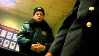 нападение подполковника полиции